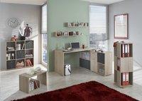 Bureau Lex décor chêne/blanc-Image 1