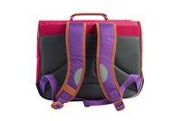 Tann's cartable Classic violet/rose 38 cm-Arrière