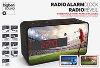 bigben wekkerradio RR16 Voetbal-Vooraanzicht