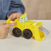 Play-Doh Wheels Graafmachine en bulldozer-Afbeelding 1