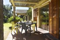 Allibert chaise de jardin Lago cappuccino-Image 1