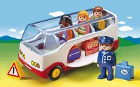 Playmobil 1.2.3 6773 Autocar de voyage-Image 1