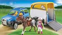 Playmobil Country 5223 Voertuig met paardentrailer-Afbeelding 1