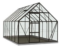 ACD serre Intro Grow Oliver 9.9 m² noir