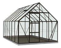 ACD serre Intro Grow Oliver 9.9 m² noir-Avant