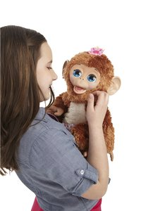 FurReal Friends interactieve knuffel Cuddles My Giggly Monkey-Afbeelding 1