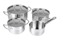 Majestic Pro Set de 4 casseroles Elite-Avant