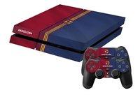 PS4 skins Barcelona pour console + 2 skins pour manettes