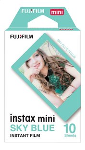 Fujifilm pack de 10 photos pour instax mini Sky Blue-Avant