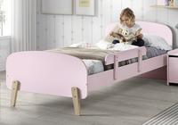 Barrière de sécurité rose pour lit kiddy-Image 1