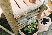 Plum houten speelhuisje Discovery Woodland-Afbeelding 6