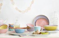 Tokyo Design Studio 6 theelepels Star & Wave blauw/paars/roze-Afbeelding 3