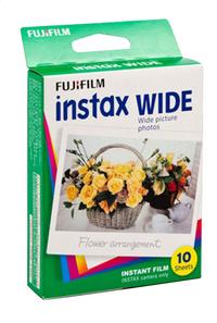 Fujifilm pack de 10 photos pour instax wide