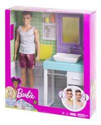 Barbie Ken et le lavabo-Côté droit