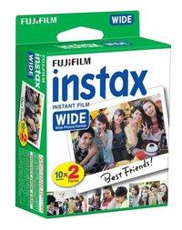 Fujifilm pack de 2 x 10 photos pour instax wide