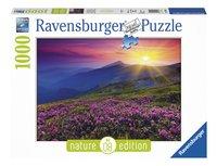 Ravensburger puzzle Prairie de Montagne au Petit Matin-Avant