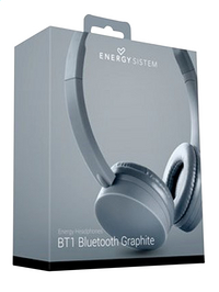 Energy Sistem bluetooth hoofdtelefoon BT1 graphite