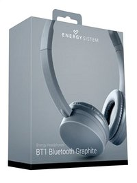 Energy Sistem bluetooth hoofdtelefoon BT1 graphite-Linkerzijde