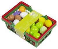 DreamLand panier à provisions rempli de fruits et légumes-Avant
