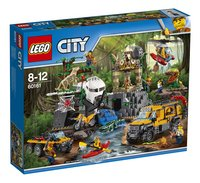 LEGO City 60161 Le site d'exploration de la jungle