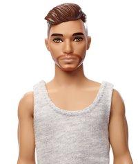 Barbie Ken et le lavabo-Vue du haut