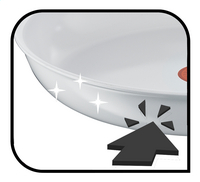 Tefal Braadpan Ceramic Control White 21 cm-Artikeldetail