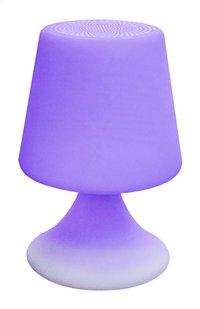 Lampe de table avec haut-parleur Bluetooth blanc-Détail de l'article