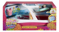 Barbie speelset Magische dolfijn Boot met zicht op de oceaan