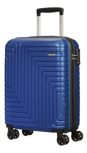 American Tourister trolley Mighty Maze Navy 55 cm-Linkerzijde