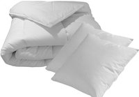 Sleeping set de 2 oreillers et couette 200 x 200 cm