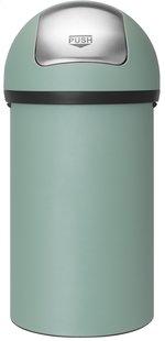 Brabantia poubelle Push Bin 60 l menthe verte-Avant