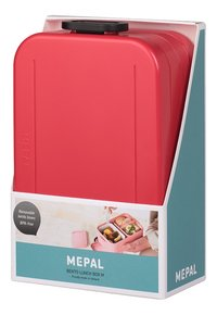Mepal lunchbox Bento M Nordic Red-Côté droit