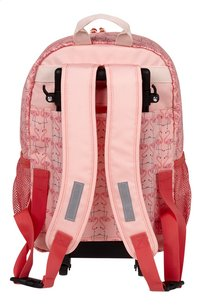 Lässig sac à dos à roulettes Mini Flamant rose-Arrière