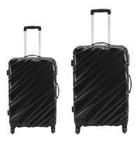 Transworld Set de valises rigides Curty Spinner black-Avant
