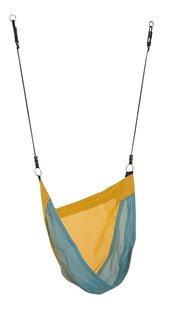 KBT nestschommel Denoh turquoise/geel-Vooraanzicht