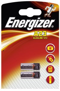 Energizer 2 piles boutons A23