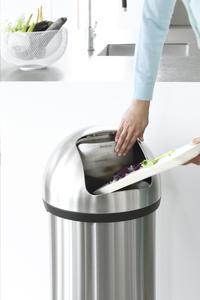Brabantia poubelle Push Bin 60 l acier mat-Image 1