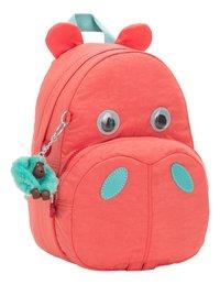 Kipling rugzak Hippo Peachy Pink C-Linkerzijde