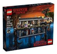 LEGO Stranger Things 75810 La maison dans le monde à l'envers-Côté gauche
