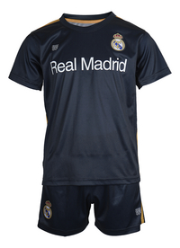 Tenue de football Real Madrid marine/or taille 116-Avant
