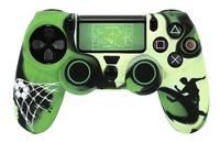 Hama pack d'accessoires pour manette PS4 Soccer-Avant
