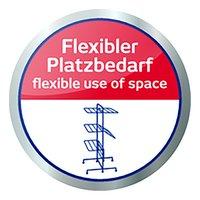 Leifheit Droogtoren Comfort Tower 420 wit/blauw-Artikeldetail