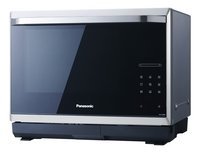 Panasonic Micro-ondes combiné Steam NN-CS894SEPG noir-Avant