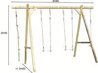 BnB Wood houten schommel Tilff-Artikeldetail