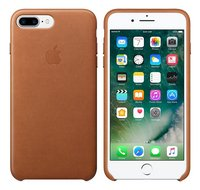 Apple backcover voor iPhone 7 Plus leder bruin
