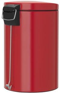 Brabantia pedaalemmer 20 l Passion Red-Achteraanzicht