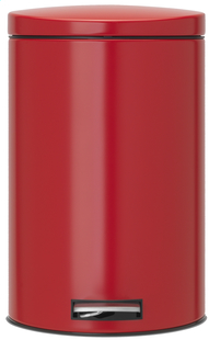 Brabantia pedaalemmer 20 l Passion Red