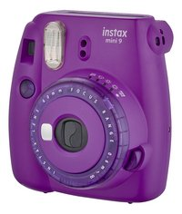 Fujifilm fototoestel Instax mini 9 Clear Purple-Rechterzijde