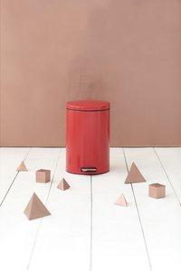 Brabantia poubelle à pédale 20 l Passion Red-Image 1