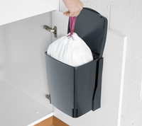 Brabantia Inbouwafvalemmer Built-in Bin 10 l black-Artikeldetail